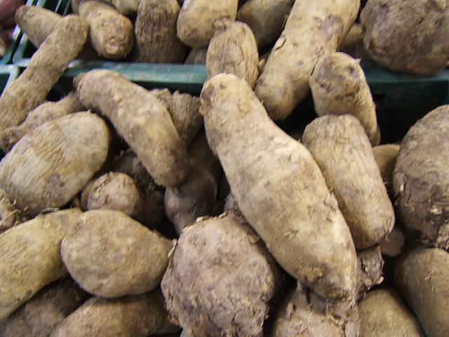 Süßkartoffeln Der Gemüsekorb